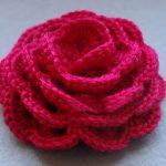 Роза вязанная крючком — схемы, описание и видео МК