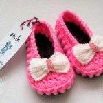 Туфельки для девочки вязаные крючком — 8 моделей со схемами, описанием, видео МК