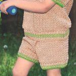 Детские шорты вязаные крючком — 12 моделей со схемами, описанием и видео МК
