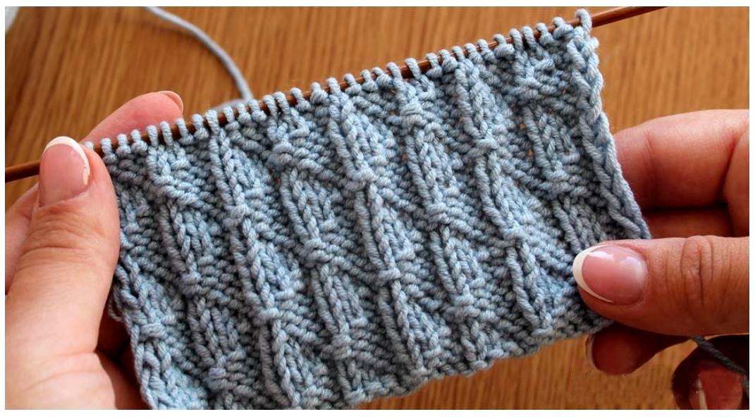 Красивый шарф спицами схема и описание фото 632