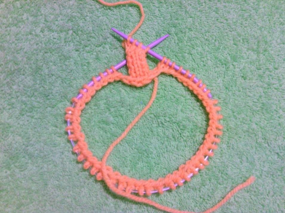 азиатский колосок схема вязания спицами 4 варианта выполнения