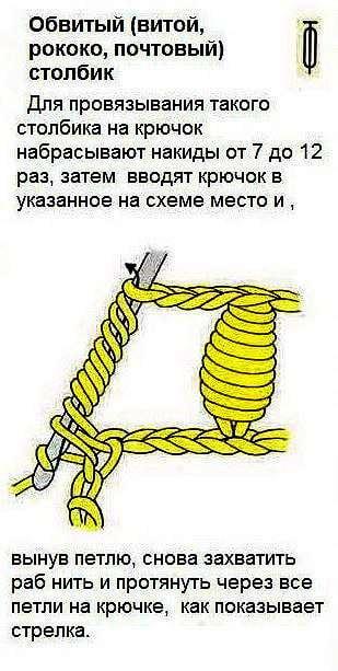 Фриформ крючком: вязание скрамблей со схемами, описанием