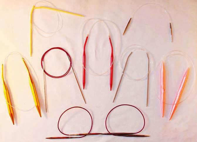Вязание на круговых спицах: выбор спиц, набор петель, выполнение моделей одежды